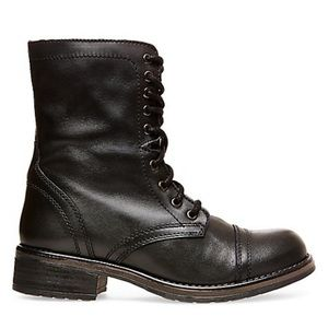 Steve Madden Troopa Lace-Up Combat Boots